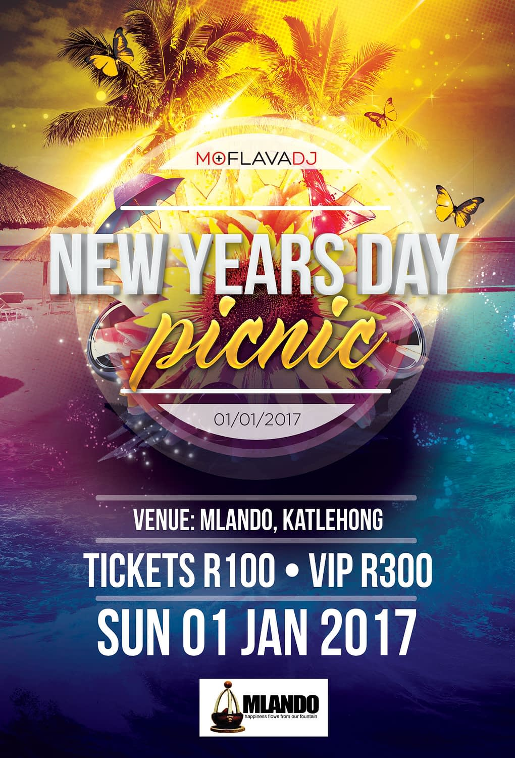 New Years Day Picnic '17 GENERIC FLYER | KEMOSO