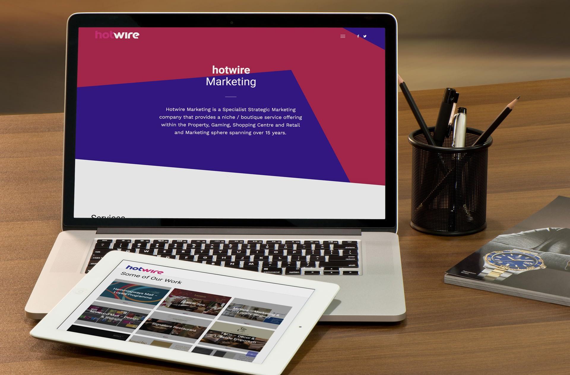 Hotwire Marketing Website (Laptop | Tablet) | KEMOSO