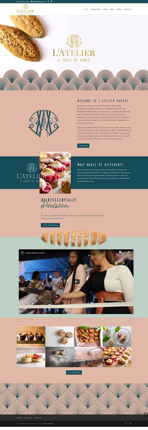 Latelier Bakery (Home Page) | KEMOSO