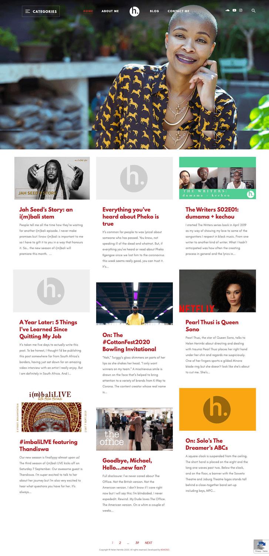 Helen Herimbi (Home Page) | KEMOSO