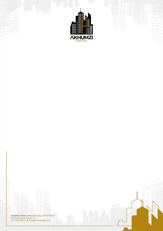 Letterhead for Akhumzi Capital | KEMOSO
