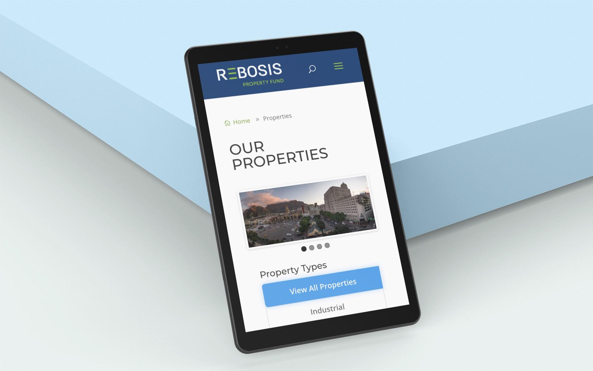 Rebosis Property Fund (Tablet) | KEMOSO