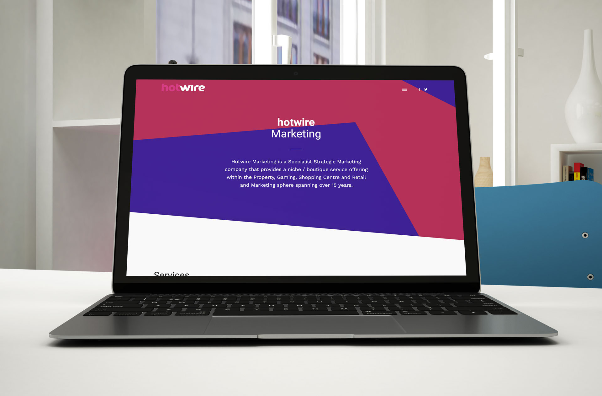 Hotwire Marketing Website (Laptop) | KEMOSO