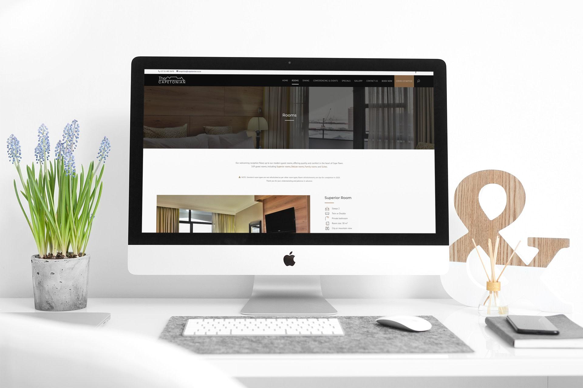 Capetonian Website (Desktop)   KEMOSO