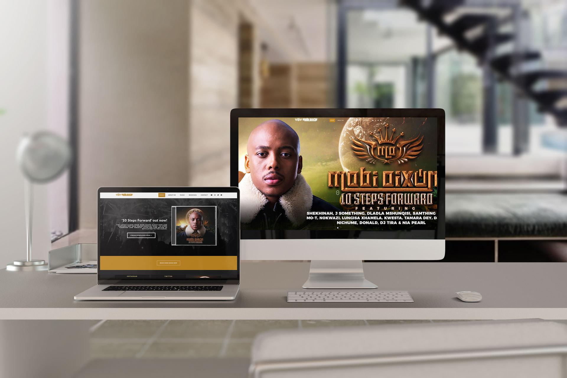 Mobi Dixon Website (Desktop & Laptop) | KEMOSO