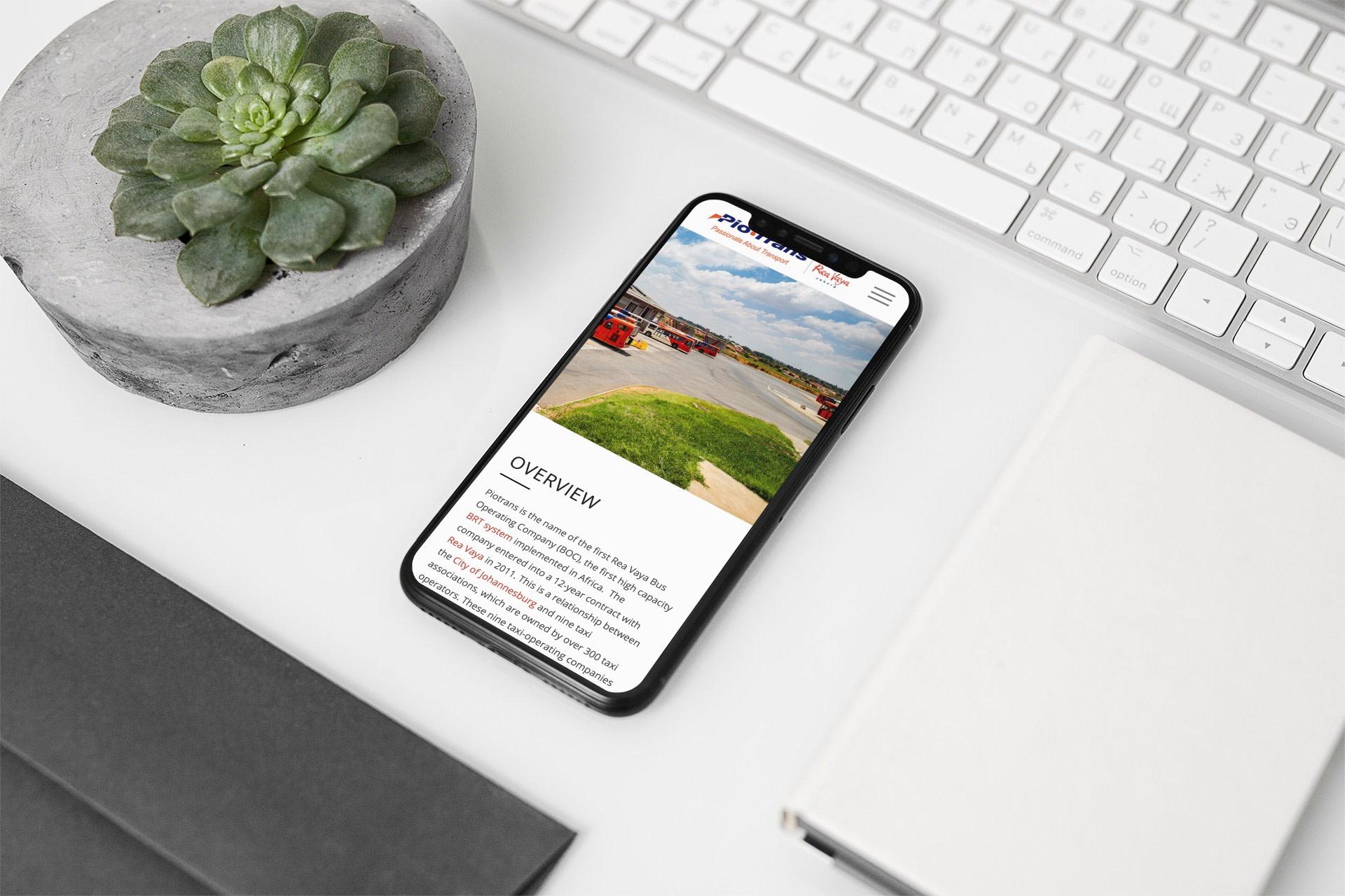 Piotrans Website (Smartphone)   KEMOSO
