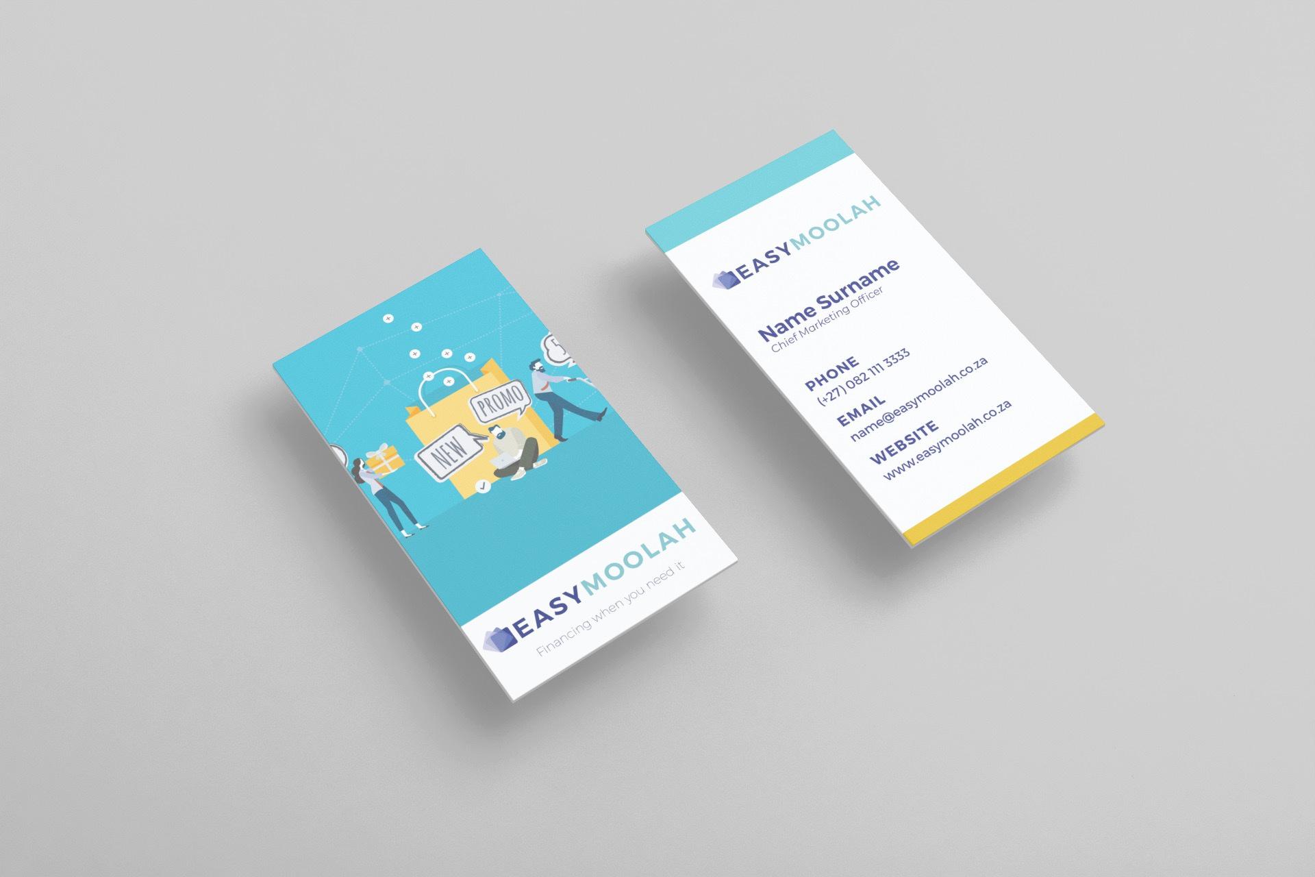 EasyMoolah Business Card Design | KEMOSO