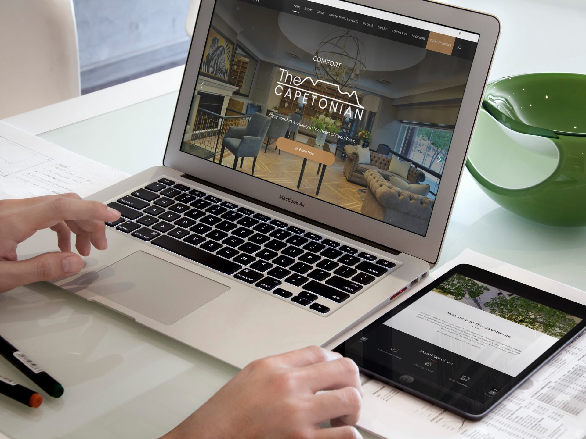 Capetonian Website (Laptop   Tablet)   KEMOSO