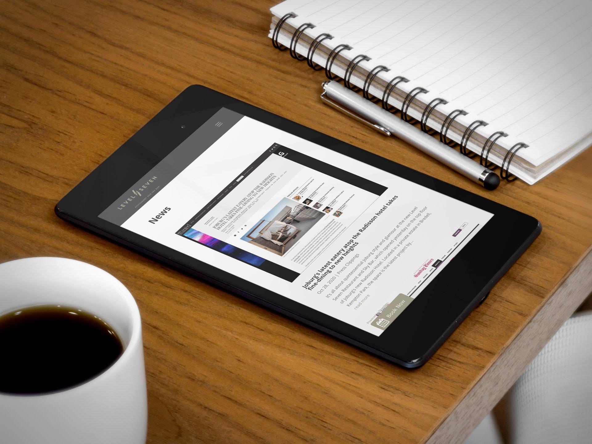 Level Seven Restaurant (Tablet) | KEMOSO