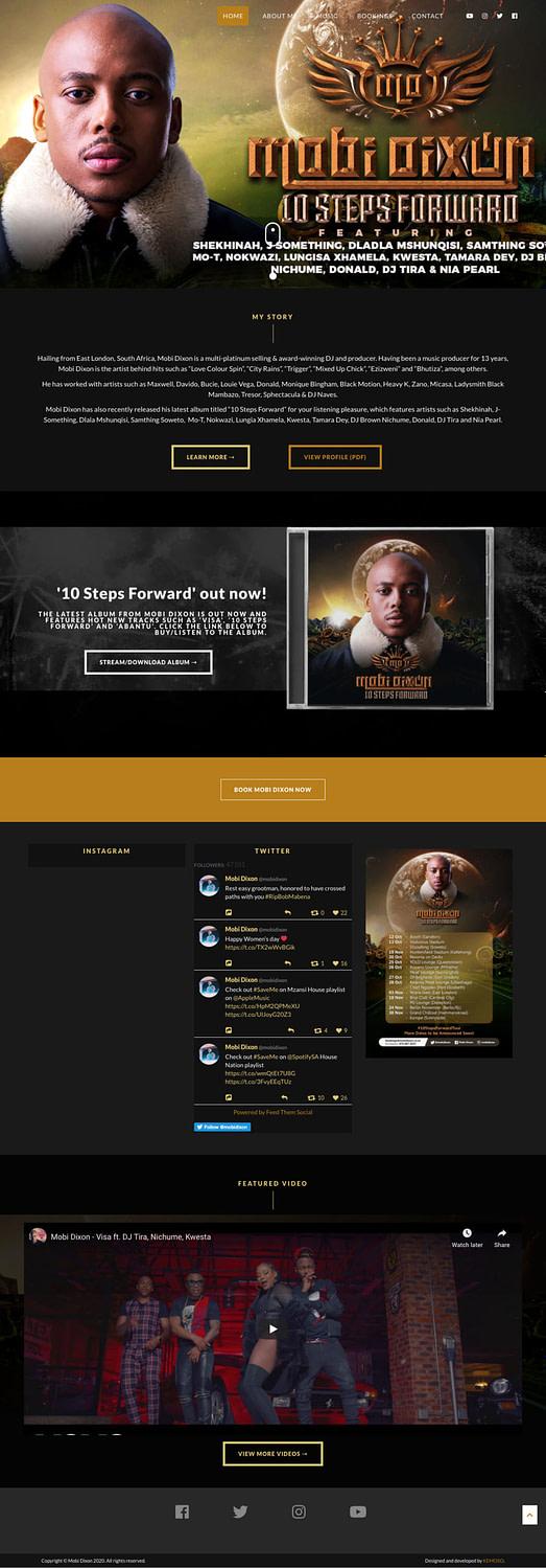 Mobi Dixon (Home Page) | KEMOSO