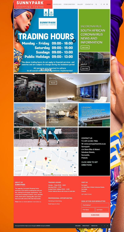Sunnypark Centre (Home Page) | KEMOSO